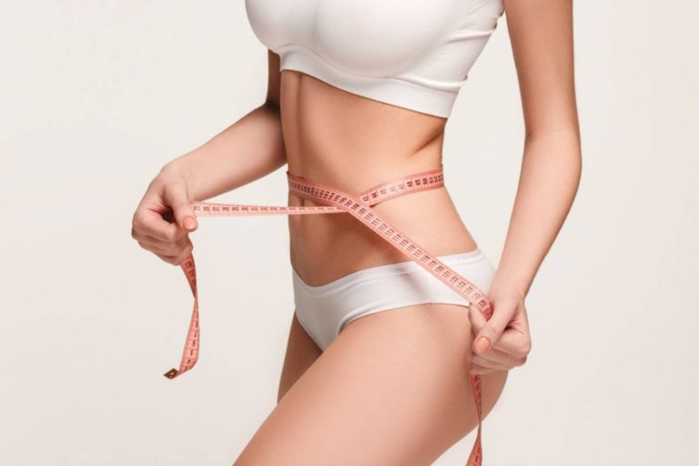 Best weight for body contouring.