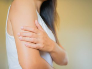 How to treat sagging arm skin.