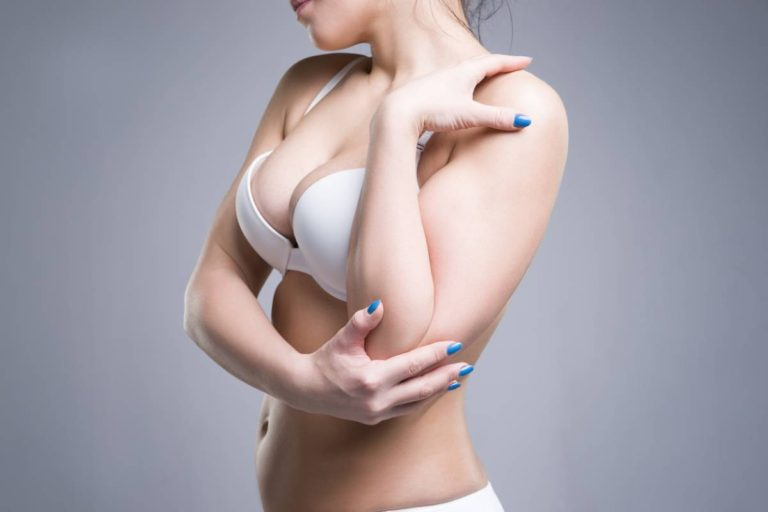 Problems caused by large breasts.